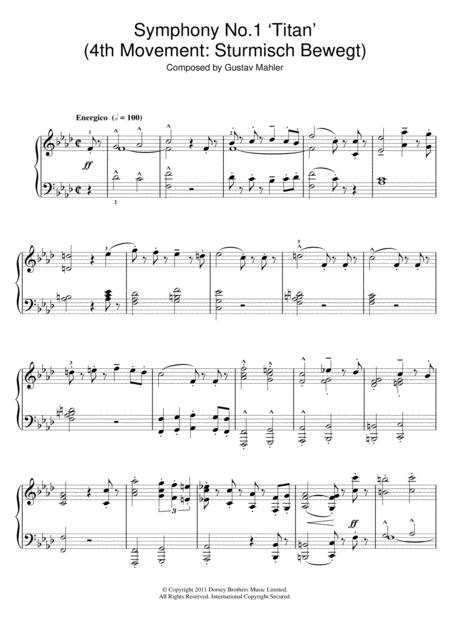 Symphony No.1 'Titan' (4th Movement: Sturmisch Bewegt)