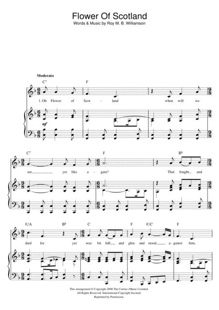 Flower Of Scotland (Unofficial Scottish National Anthem)