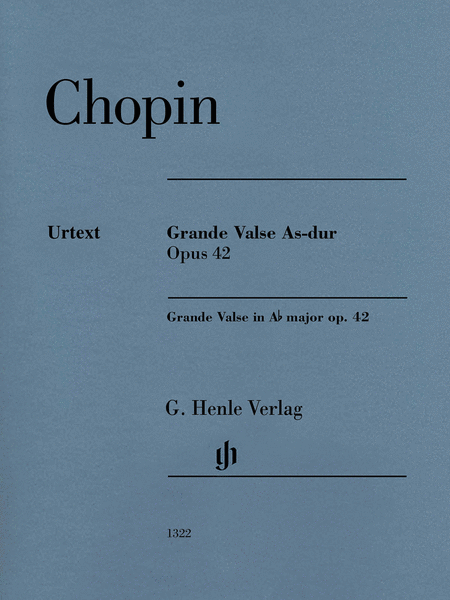 Grande Valse A-flat Major Op. 42