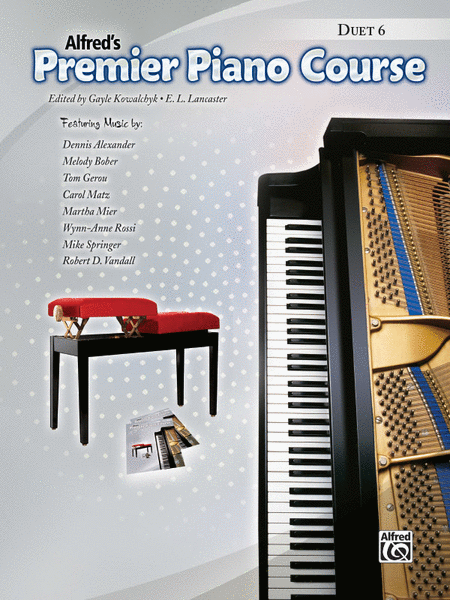 Premier Piano Course Duet, Book 6