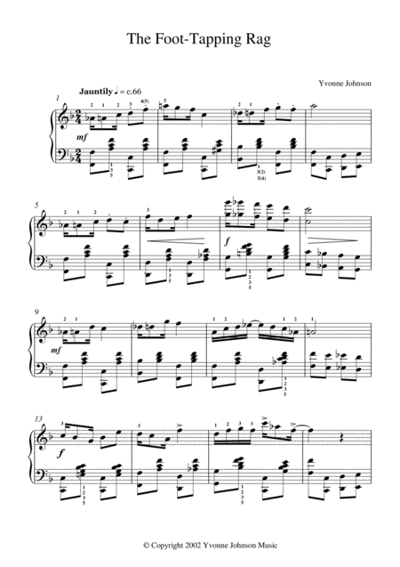 The Foot-Tapping Rag