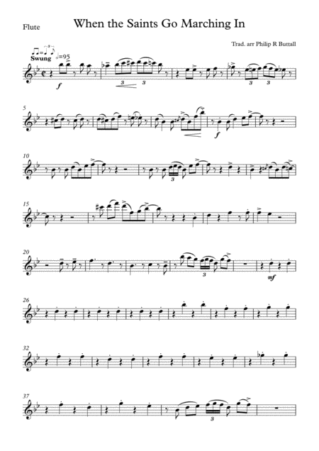 When The Saints Go Marching In (Wind Quintet) - Set of Parts [x5]