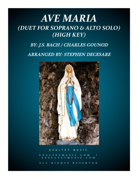 Ave Maria (Duet for Soprano and Alto Solo - High Key)
