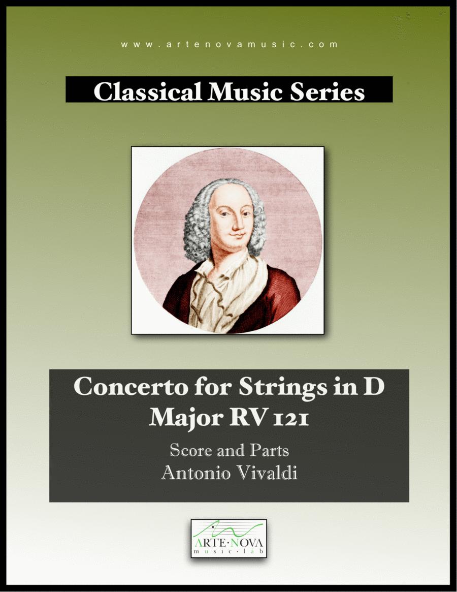 Concerto for Strings in D Major RV 121