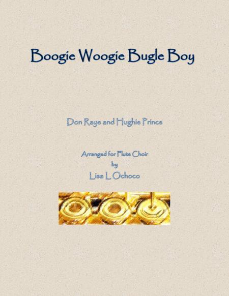 Boogie Woogie Bugle Boy for Flute Choir