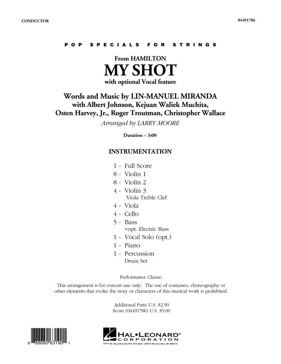 My Shot - Conductor Score (Full Score)