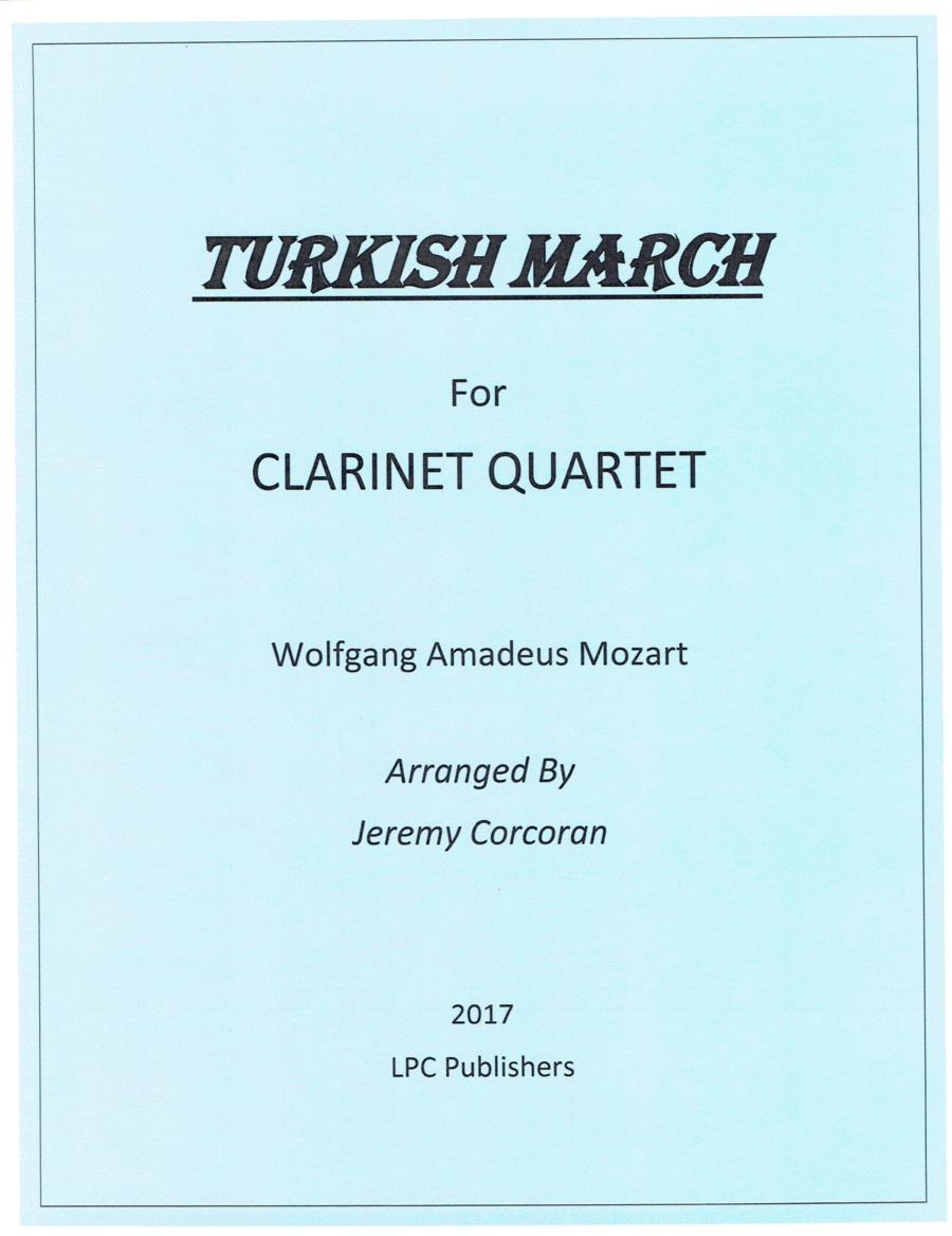 Turkish March for Clarinet Quartet