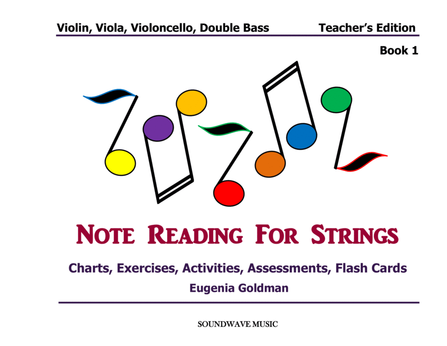 Note Reading for Strings Book 1 (Teacher's Edition)
