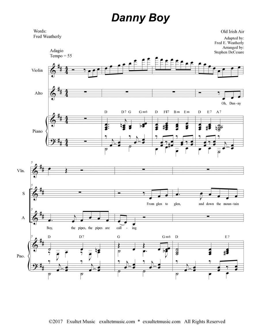 Danny Boy (Duet for Soprano and Alto Solo)