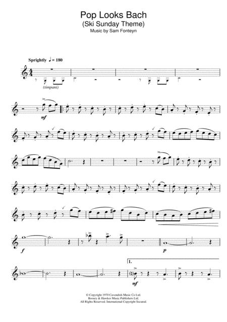 Ski Sunday Theme (Pop Looks Bach)