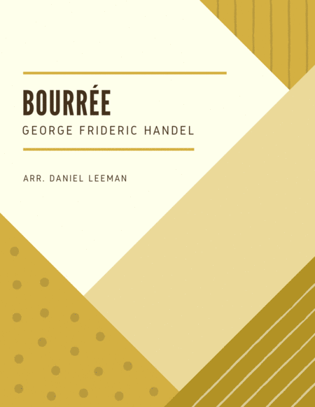 Bourree for Cello & Piano