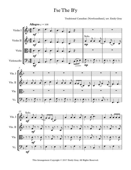 I'se the B'y (String Quartet)