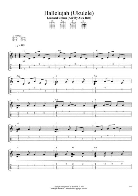 Hallelujah (Fingerstyle Ukulele)
