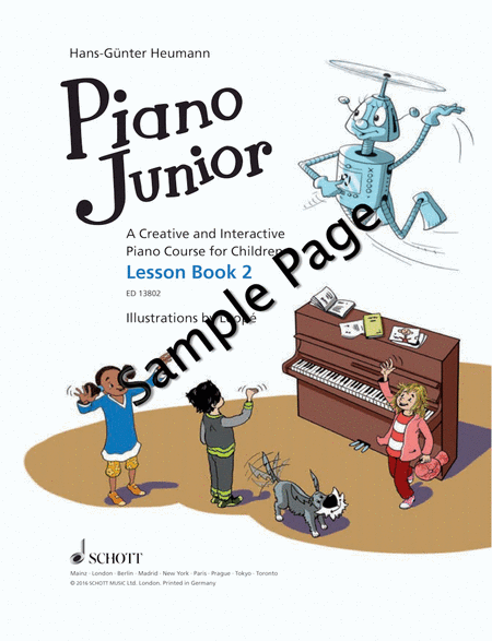 Piano Junior: Lesson Book 2