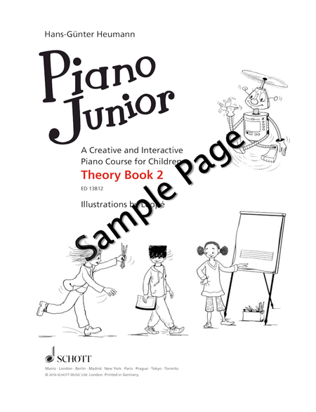 Piano Junior: Theory Book 2