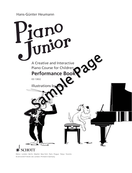 Piano Junior: Performance Book 2