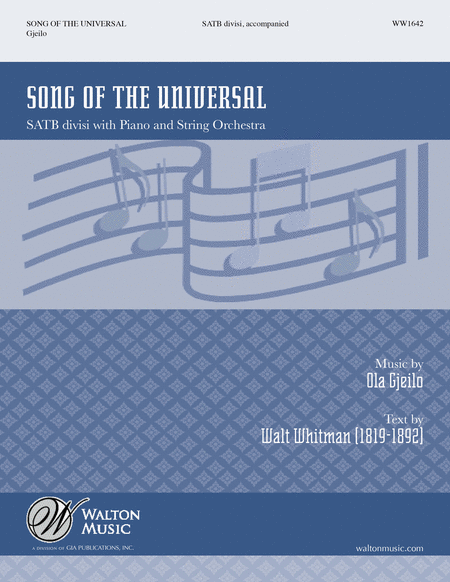Song of the Universal (SATB)