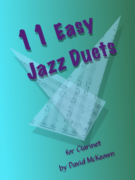 11 Easy Jazz Duets for Clarinet