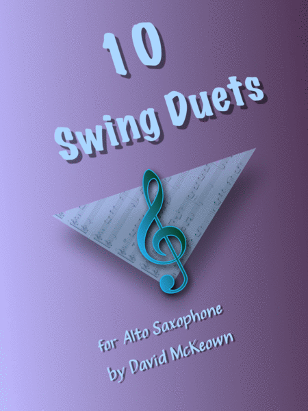 11 Swing Duets for Alto Saxophone
