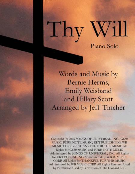 Thy Will