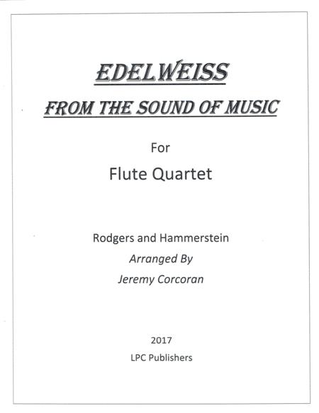Edelweiss for Flute Quartet