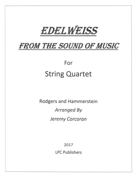 Edelweiss for String Quartet