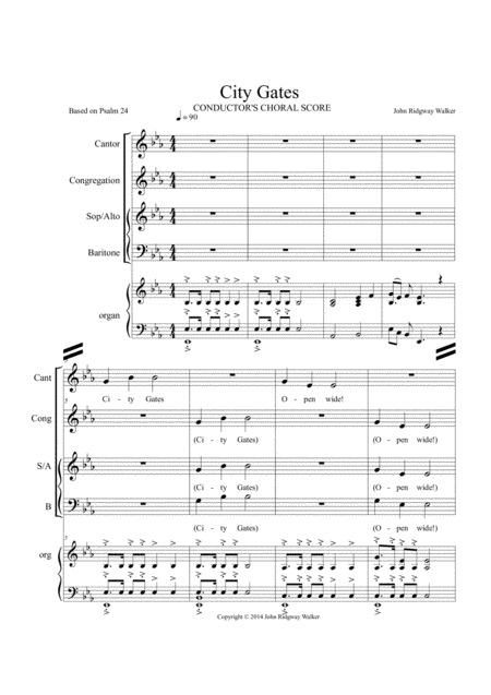 City Gates (Eb)-02* CHORAL CONDUCTOR'S PACKAGE