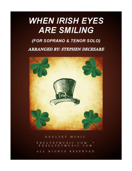When Irish Eyes Are Smiling (Duet for Soprano and Tenor Solo)