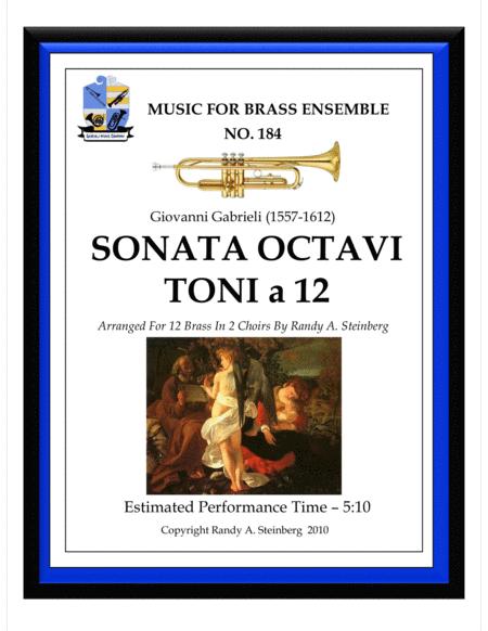 Sonata Octavi Toni a 12 - No. 184