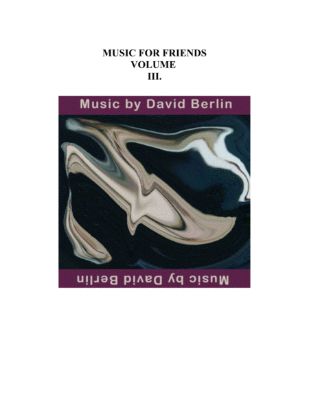 MUSIC FOR FRIENDS VOL.3