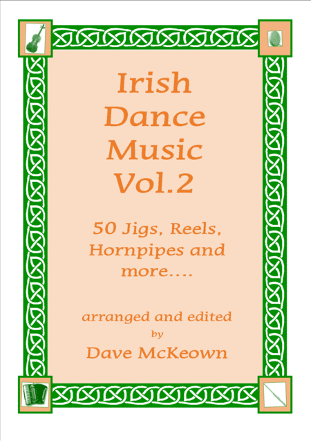 Irish Dance Music Vol.2 for Mandolin Tab GDAE; 50 Jigs, Reels, Hornpipes and more....