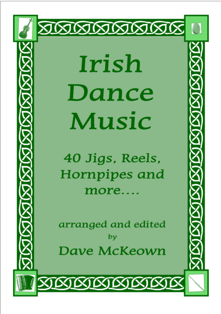 Irish Dance Music Vol.1 for Mandolin Tab GDAE; 40 Jigs, Reels, Hornpipes and more....