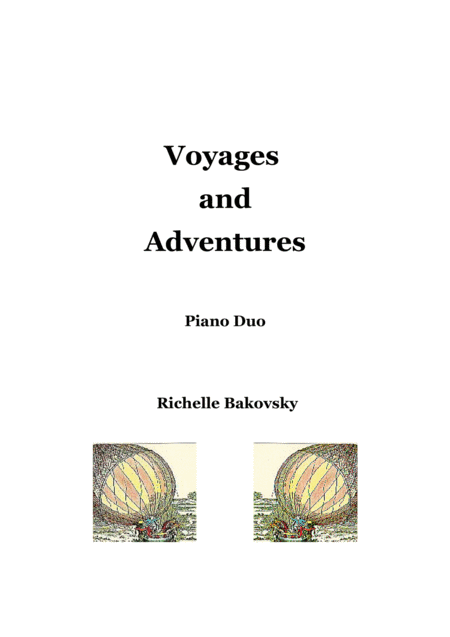 Voyages and Adventures for Piano Duo