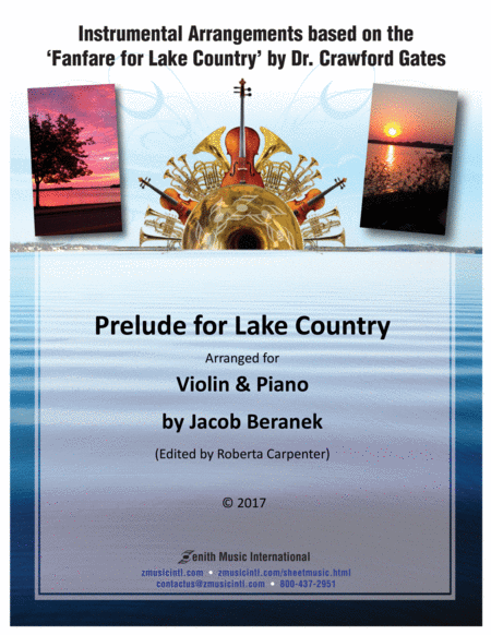 Prelude for Lake Country - Violin and Piano