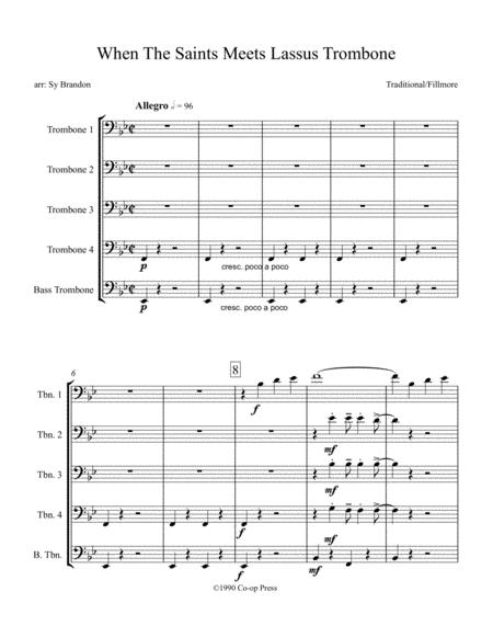 When The Saints Meet Lassus Trombone