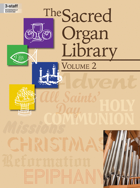 The Sacred Organ Library, Vol. 2