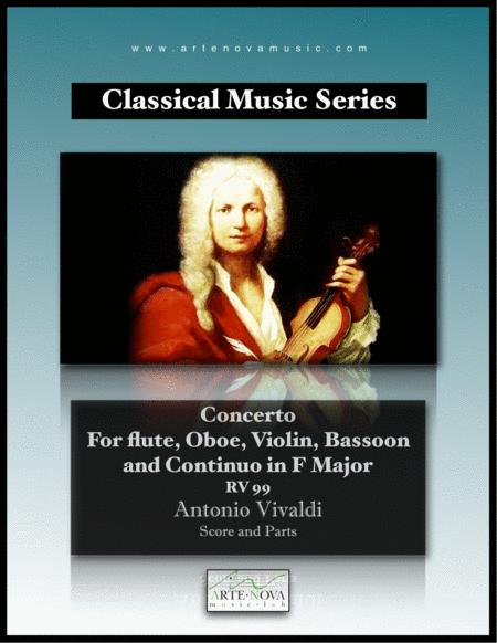 Concerto for Flute, Oboe, Violin, Bassoon and Continuo RV 99