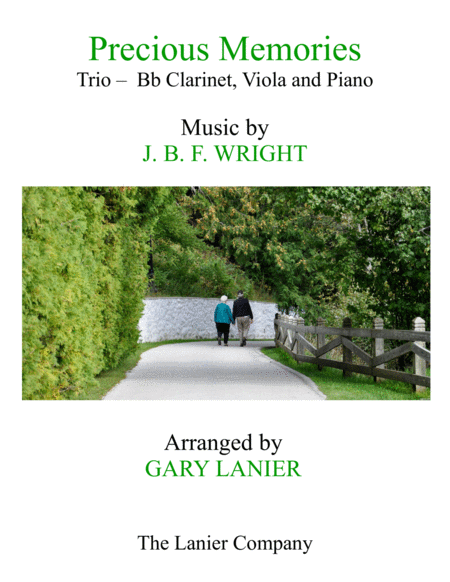 Precious Memories (Trio - Bb Clarinet, Viola & Piano with Score/Part)