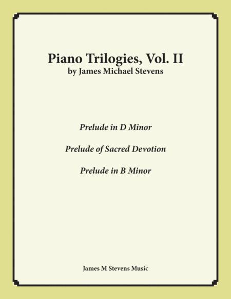 Piano Trilogies, Vol. II (Preludes)