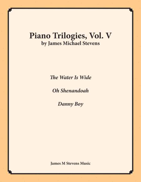 Piano Trilogies, Vol. V (Folk Songs)