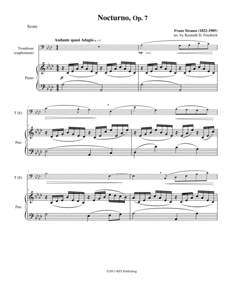 Nocturno, Op. 7