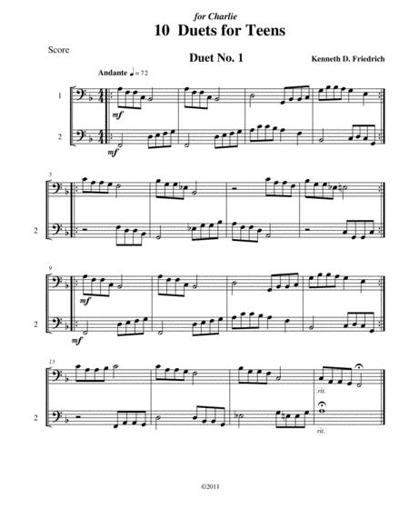 10 Bassoon Duets for Teens