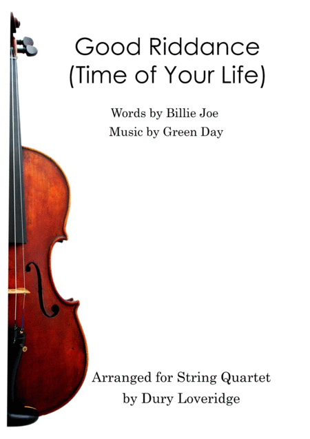 Good Riddance (Time Of Your Life) - String Quartet