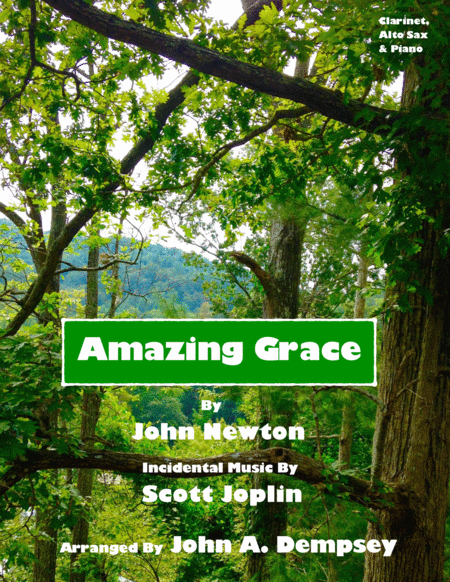 Amazing Grace / The Entertainer (Trio for Clarinet, Alto Sax and Piano)