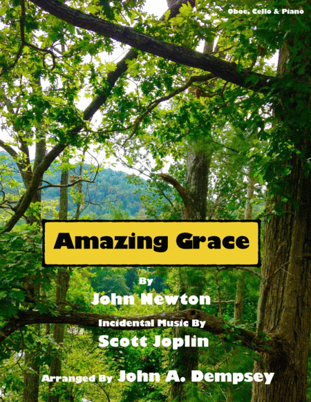 Amazing Grace / The Entertainer (Trio for Oboe, Cello and Piano)