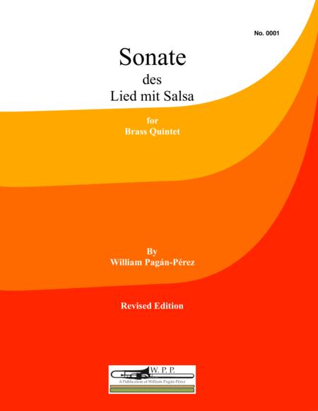 Sonate des Lied mit Salsa