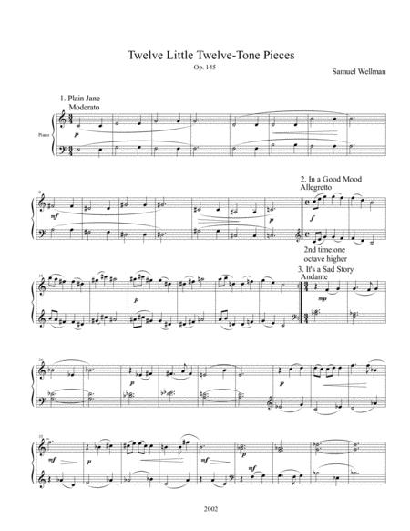 Twelve Little Twelve-tone Pieces, Op. 145
