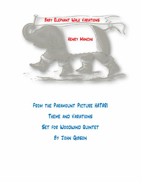 baby elephant walk sheet music pdf