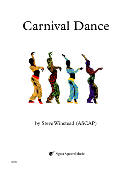 Carnival Dance for Clarinet Quintet/Choir