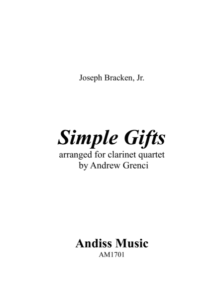 Simple Gifts (Shaker Melody)